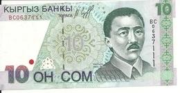 KIRGHIZISTAN 10 SOM 1997 UNC P 14 - Kirgizïe