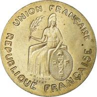 Monnaie, Nouvelle-Calédonie, Franc, 1948, Paris, ESSAI, SUP, Nickel-Bronze - Nieuw-Caledonië