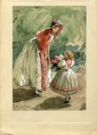 Water Color On Paper Antoine Calbet 1860 - 1942 H: 11,5cm W : 8,3cm Impressionist Painter - Prints & Engravings