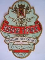Etiket Etiquette Rhum Vieux Qualité Superieure Etiq. Carez - Rhum