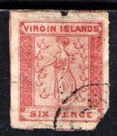 12122 Ilhas Virgens 2 Santa Ursula Com Defeito U - Britse Maagdeneilanden