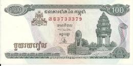 CAMBODGE 100 RIELS 1995 UNC P 41 A - Cambogia