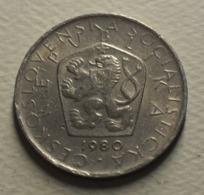 1980 - Tchécoslovaquie - Czechoslovakia - 5 KORUN - KM 60 - Czechoslovakia