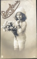 (1537) Bonne Année - Lief Meisje Met Warme Wintermuts - 1911 - New Year