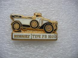 Pin's Renault De Type FS De 1920 - Renault