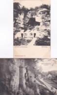 2389128Groet Uit Valkenburg, Rotsgezicht 1907 – Rotswoning (2 Kaarten) - Valkenburg