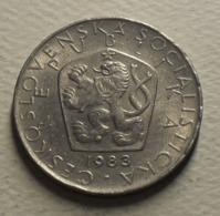 1983 - Tchécoslovaquie - Czechoslovakia - 5 KORUN - KM 60 - Czechoslovakia