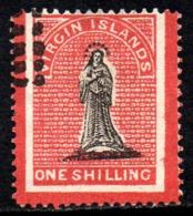12123 Ilhas Virgens 7 A Virgem Com Borda Colorida U - Britse Maagdeneilanden