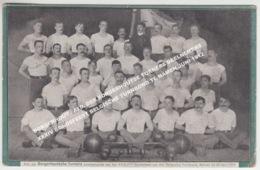 BORGERHOUT / AFD. DER BORGERHOUTSE TURNERS DEELNEMERS XXXIV BONDSFEEST BELGISCHE TURNBOND TE NAMEN JUNI 1912 - Antwerpen