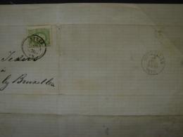 PL. Cl1. 9.  10c Vert Clair Sur Lettre De Ypres à Auderghem-lez-Bruxelles 1876 - 1869-1883 Léopold II
