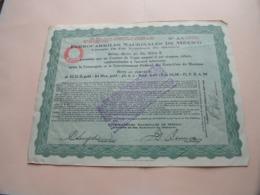 FERROCARRILES Nacionales De MEXICO Chemin De Fer / N° AA 156239 ( Zie/Voir Foto ) ! - Chemin De Fer & Tramway