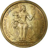 Monnaie, Nouvelle-Calédonie, Franc, 1949, Paris, ESSAI, TTB, Copper-nickel - Nieuw-Caledonië