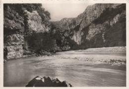 Carte Postale Des Années 60 Des Alpes De Haute-Provence - Le Grand Canon Du Verdon - La Belle Plage D'Issane - Francia