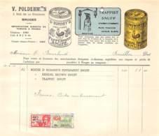 Bruges - Rue De La Fonderie - Tabac à Priser - V. Polderman - 1950 - ...