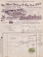 BRUXELLES Rue Rogier - 1927 - Vernis - Jules De Cock - Belgium