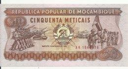 MOZAMBIQUE 50 METICAIS 1986 UNC P 129 B - Mozambique