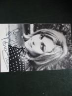 Feuille De Programme Dedicacee Pascale Roberts - Autografi