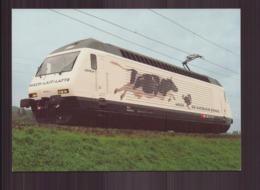 LOCOMOTIVE SBB CFF FFS - Eisenbahnen