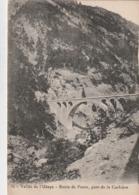 Carte Postale Ancienne Des Alpes De Haute-Provence - Vallée De L'Ubaye - Route De Fours, Pont De Corbière - Frankreich