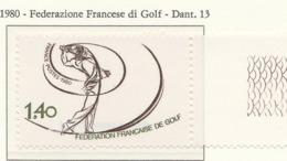 PIA - FRAN -1980 : Federazione Francese Del Golf  - (Yv 2105) - Golf