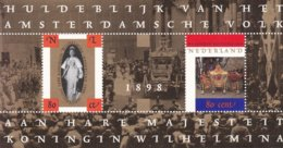 Netherlands Niederlande Pays-Bas - 1998 Blokje Oranje Vorstinnen NVPH 1778  MNH** - Blocks & Sheetlets