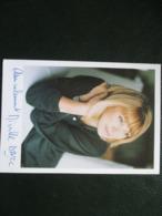 Photo Dedicacee Mireille Darc - Autographes