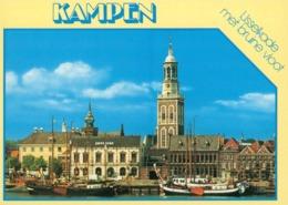The Netherlands - Kampen - Ijsselkade Met Bruine Vloot - Kampen