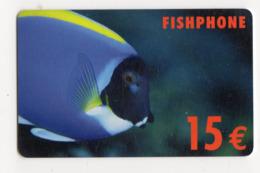 FRANCE CARTE Prépayée 15€ FISHPHONE - Andere Voorafbetaalde Kaarten