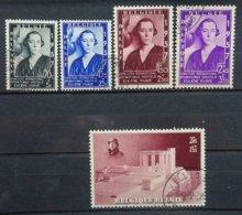 BELGIE  1937    Nr. 456 - 457 B /  465 A    Gestempeld   CW 24,00 - Bélgica