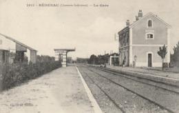 Bédenac (charente Inférieure) - La Gare - Frankreich