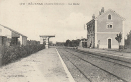 Bédenac (charente Inférieure) - La Gare - Sonstige Gemeinden