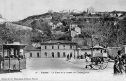 """VIENNE """" La Gare Et Le Coteau De Coupe-Jarret"""" - Vienne"""