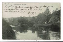 CPA-Carte Postale-Belgique Aywaille- L'Amblève Vers Les Ruines  En 1906  VM8388 - Aywaille
