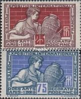 France 174-175 (complète.Edition.) Avec Charnière 1924 Arts - France