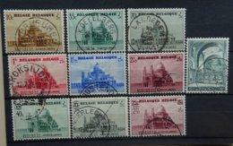 BELGIE  1938    Nr. 471 - 477 /  481 - 483   Gestempeld   CW 25,50 - Bélgica