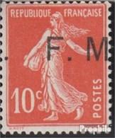France MP5 (complète.Edition.) Neuf Avec Gomme Originale 1907 Militärpostmarke - France