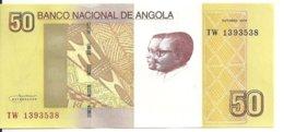 ANGOLA 50 KWANZAS 2012 UNC P 152 - Angola