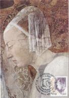 Carte Maximum Peinture Italie 2002 Piero Della Francesca - Maximumkarten (MC)