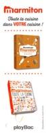 Marque-page °° PlayBac - Marmiton - Toute La Cuisine Dans Votre Cuisine - 5x17 - Marque-Pages