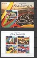 ML069 2016 MALDIVES SPORTS OLYMPIC GAMES RIO DE JANEIRO 1KB+1BL MNH - Sommer 2016: Rio De Janeiro