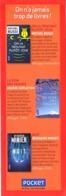 Marque-page °° Pocket - On A Jamais Trop De Livres (6 Livres) - 6x18 - Marque-Pages
