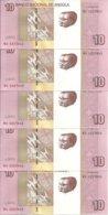 ANGOLA 10 KWANZAS 2012(2017) AUNC P 151B ( 5 Billets ) - Angola
