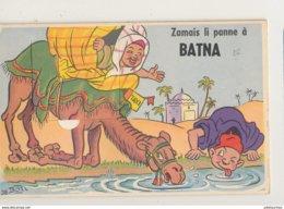 ALGERIE BATNA CARTE SYSTEME MULTIVUES CPA  10 VUS ON ETAT - Batna