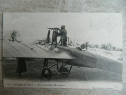 GUERRE DE 1914 -1918           AERO MITRAILLEUSE DEPERDUSSIN                 AVIATION - Guerre 1914-18