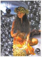 Polynésie Française-La Femme Et La Perle Noire (1)(perles Coquillage Shell Nue)(PhotoTeva Sylvain 968 Tahiti @PRIX  FIXE - Polynésie Française