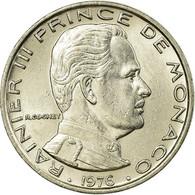 Monnaie, Monaco, Rainier III, Franc, 1976, TTB, Nickel, KM:140 - Monaco