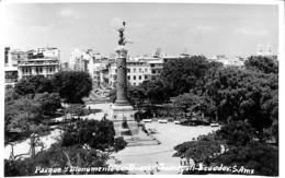 Ecuador Equateur - Parque Y Monumento Centerio Guayaqui (empty Back) - Equateur