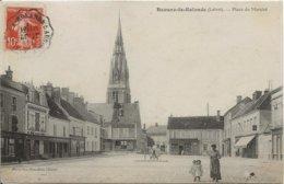 D 45 BEAUNE LA ROLANDE   Place Du Marche - Beaune-la-Rolande