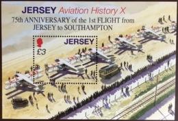 Jersey 2009 Flight To Southampton Anniversary Minisheet MNH - Jersey