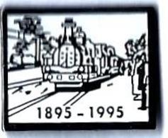 VAPEURS - V67 - TRAIN A VAPEUR - 1895-1995 - Verso : TROPHY INT. - TGV
